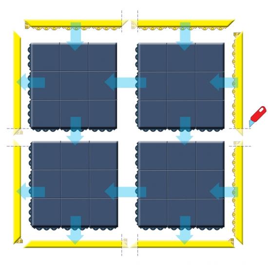 ESD matten Modulair systeem